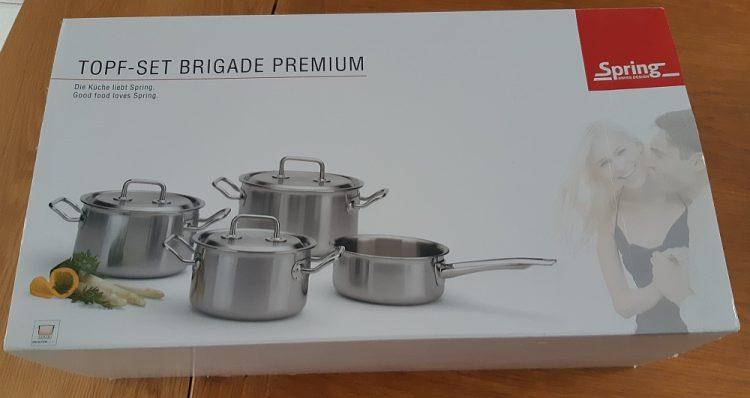 pannenset Brigade Premium Spring