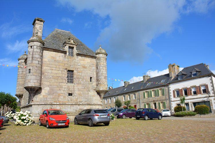 Dorpje in Bretagne