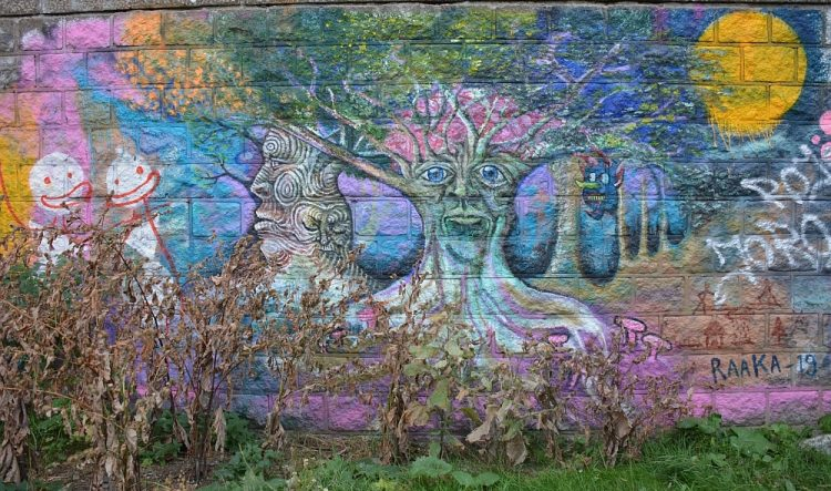 street art Eiland van Brienenoord