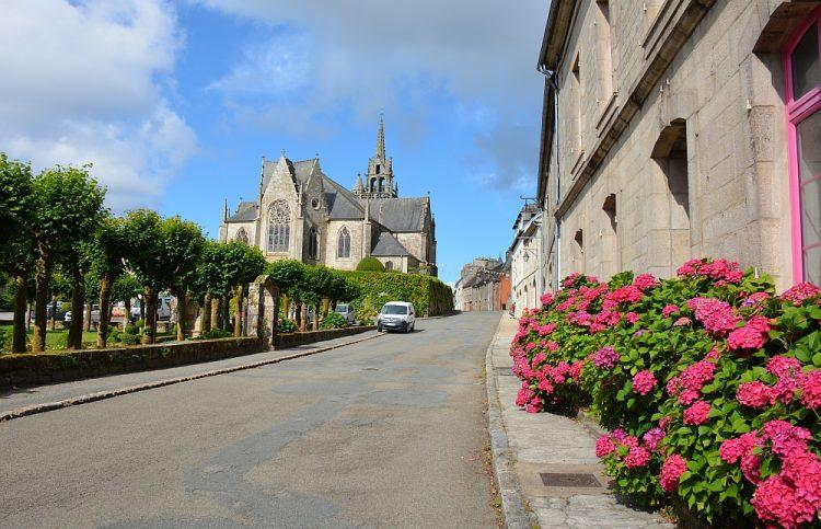 typisch Bretons straatje
