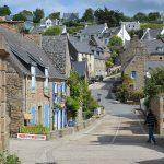 typisch vissersdorpje in Bretagne Frankrijk