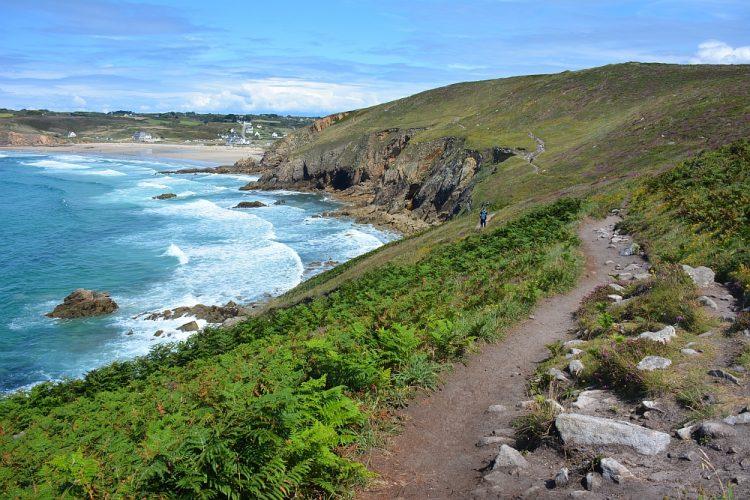wandelen bij Pointe du Raz Bretagne